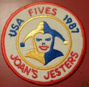 Joan's Jesters badge