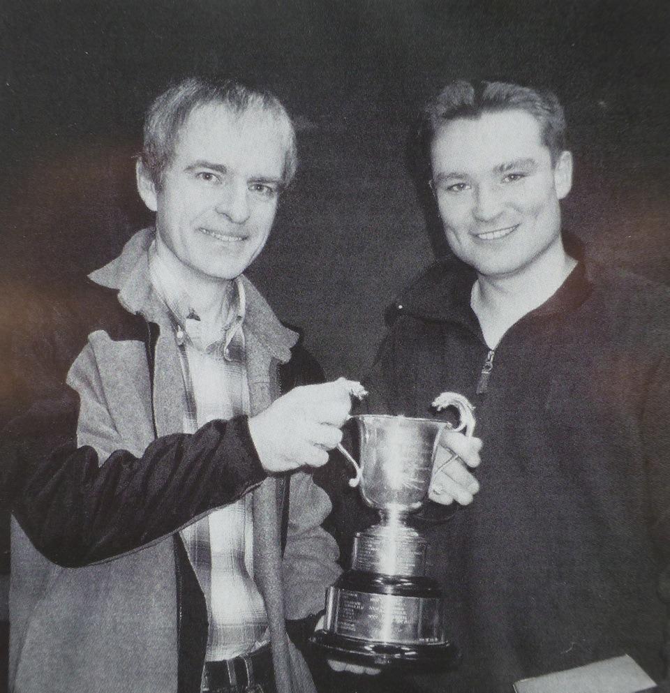 Phil Atkinson (left) & Iain de Weymarn 2002