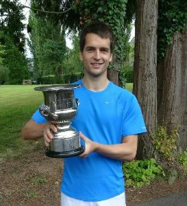 Will Ellison: 5 times South West Singles Champion