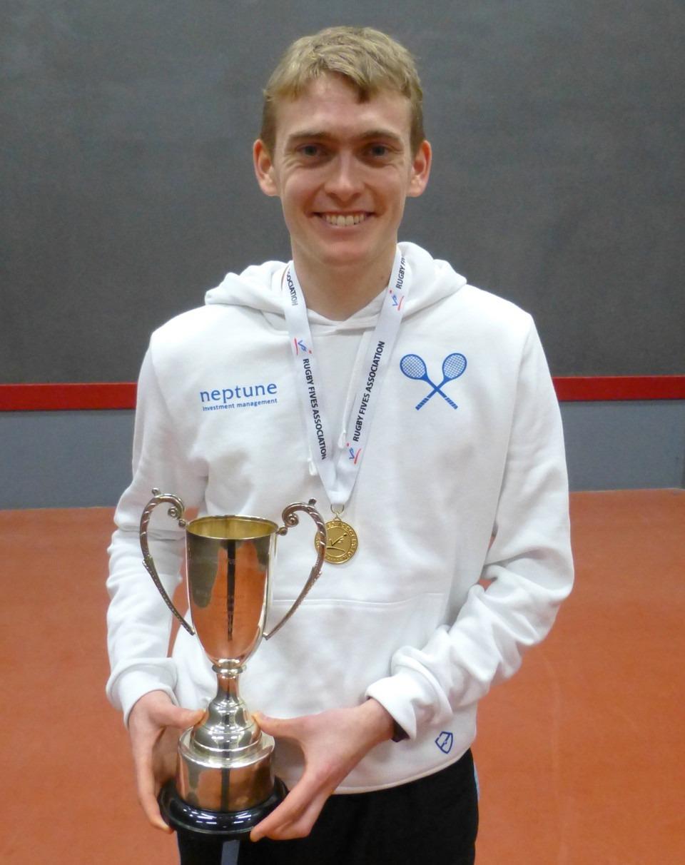 Ed Kay, BUSF Singles Champion 2015