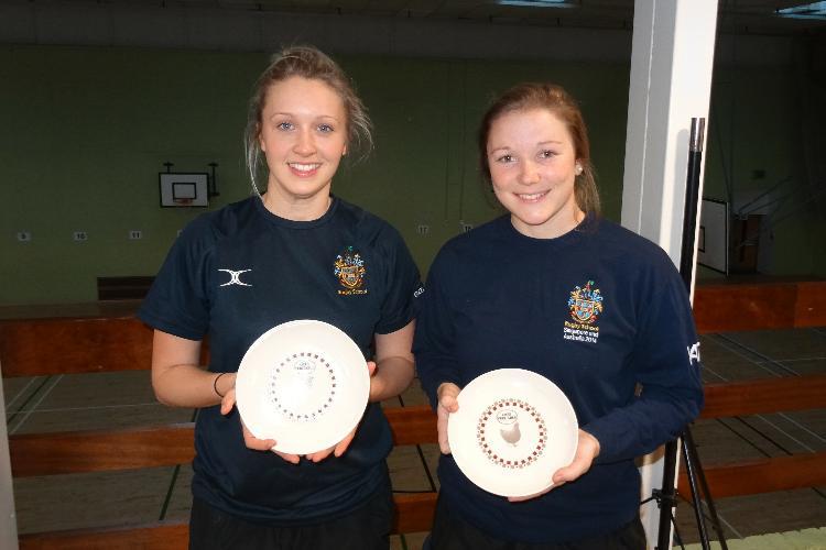 2016 Ladies Doubles Plate winners