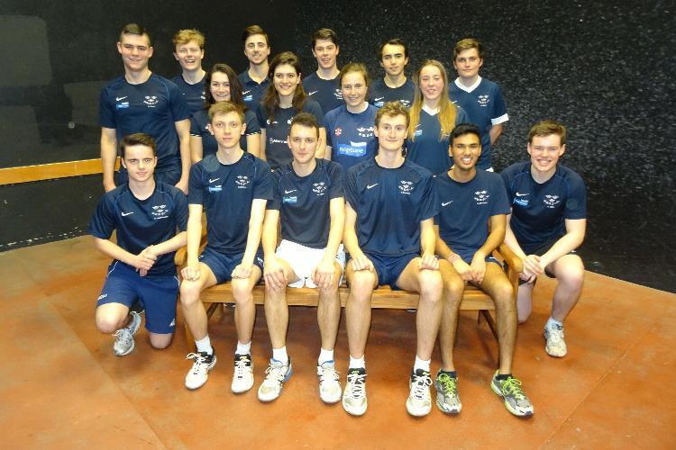 The Oxford squad