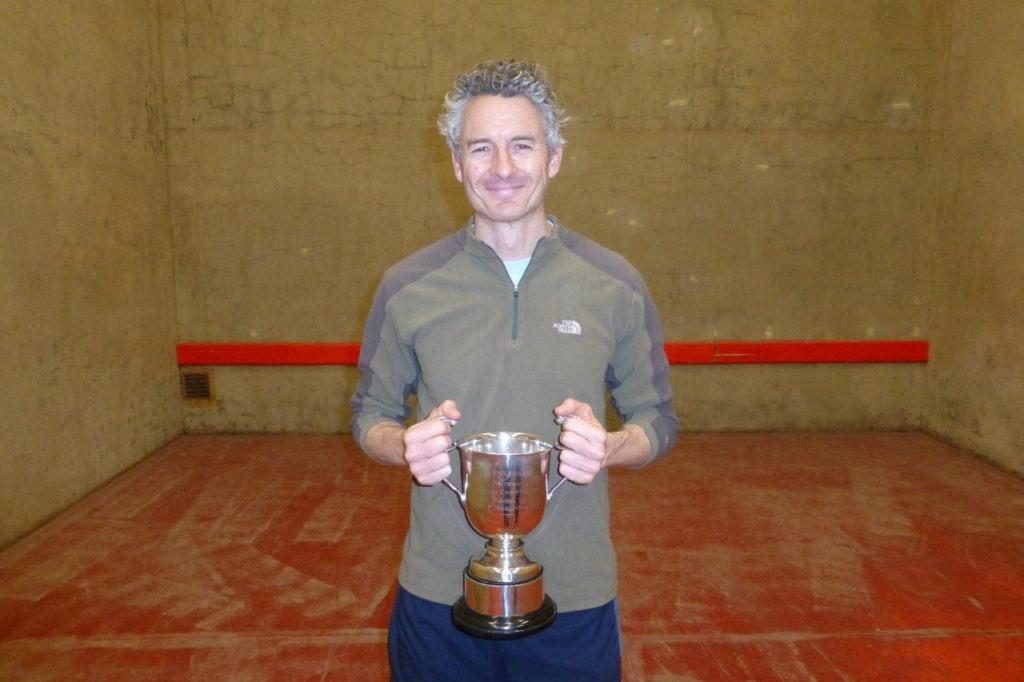 Matt Cavanagh: Veterans Singles Champion 2016