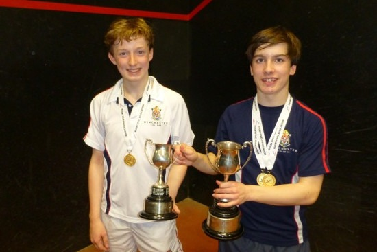 The U14 winners from Winchester College