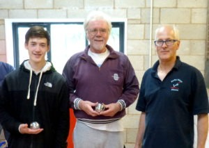 Plate winners John Halligan & Mark Kiteley