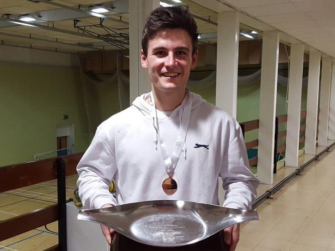 Plate winner Matt Shaw