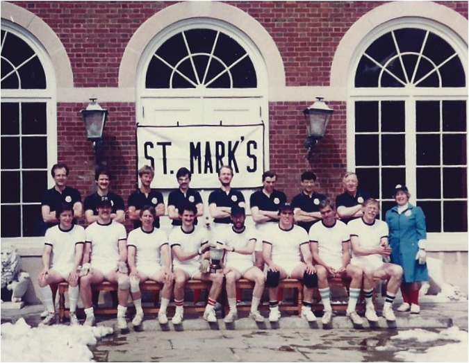 1982 GB & USA Fives teams at St.Mark's, Southborough 11th April 1982