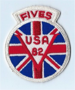 The GB party's badge 1982
