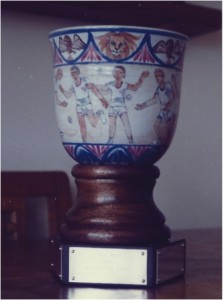 The Carey-Wood Cup, made by Eve Carey 1982