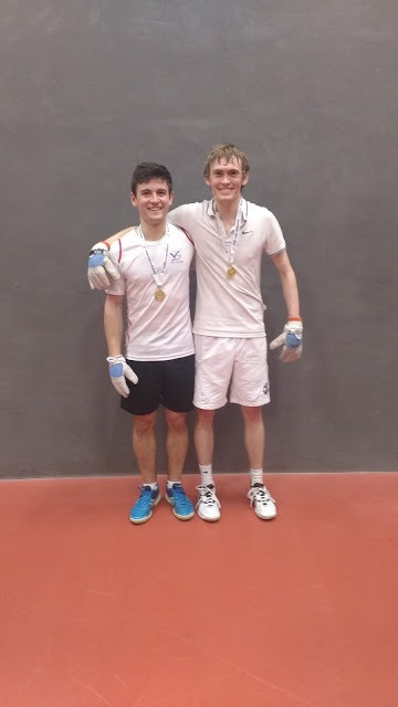 Doubles champions Shaw & Kay