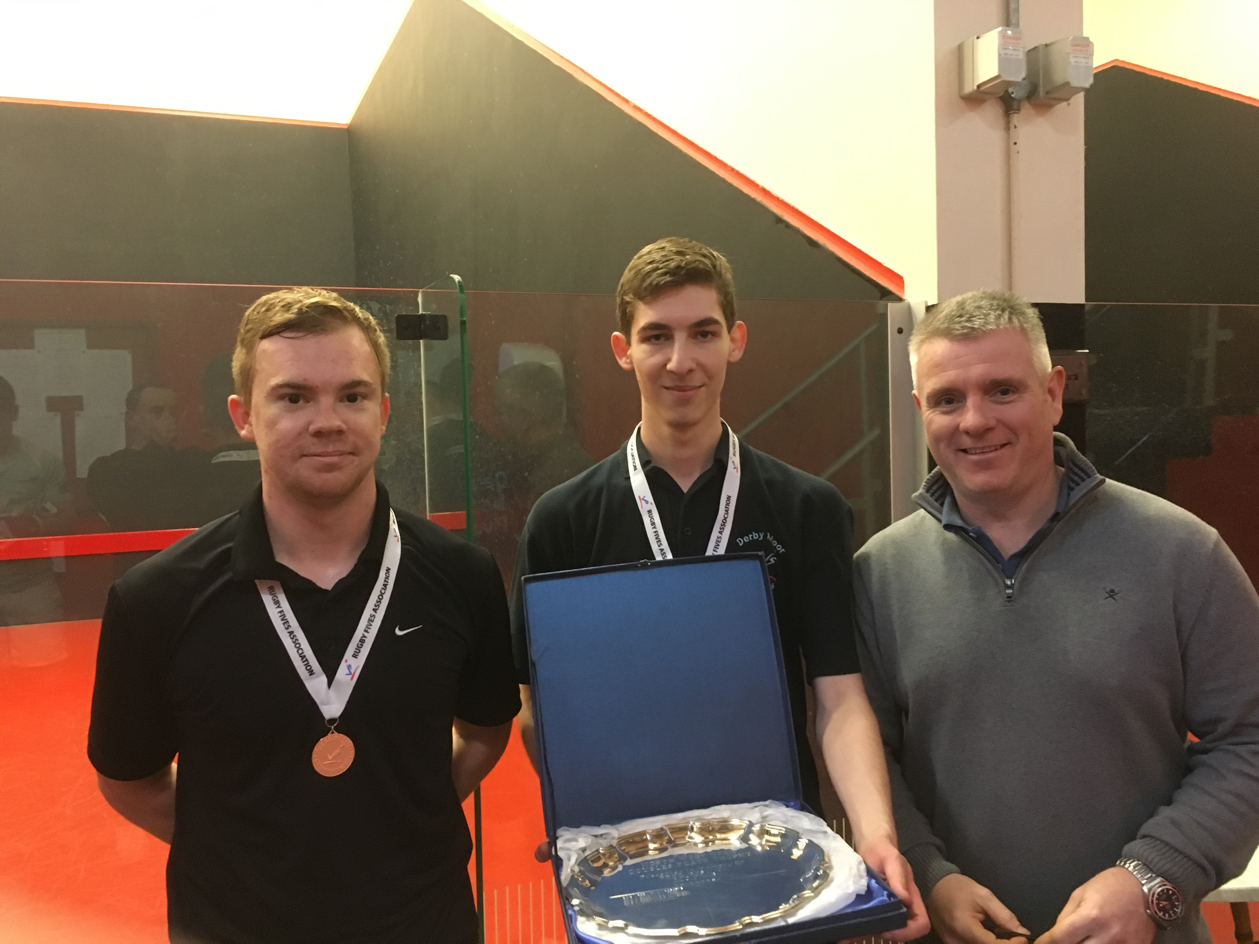 First-time Plate winners Wheatley & Baxter