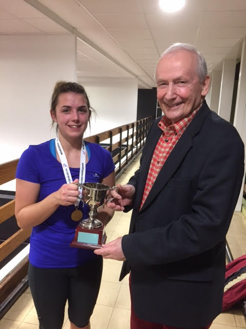 Tessa Mills first time National Ladies Singles champion