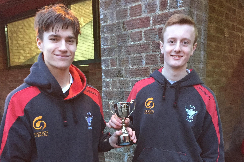 Sumner & Colbert win the Cooper Cup for U18 Doubles