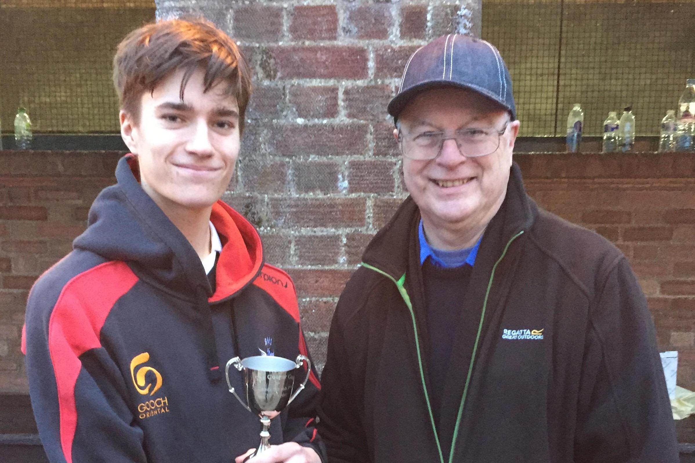 Joe Sumner, Quarry Cup winner 2017