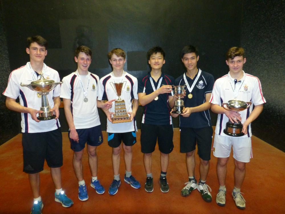 U16 and U18 champions from Winchester College