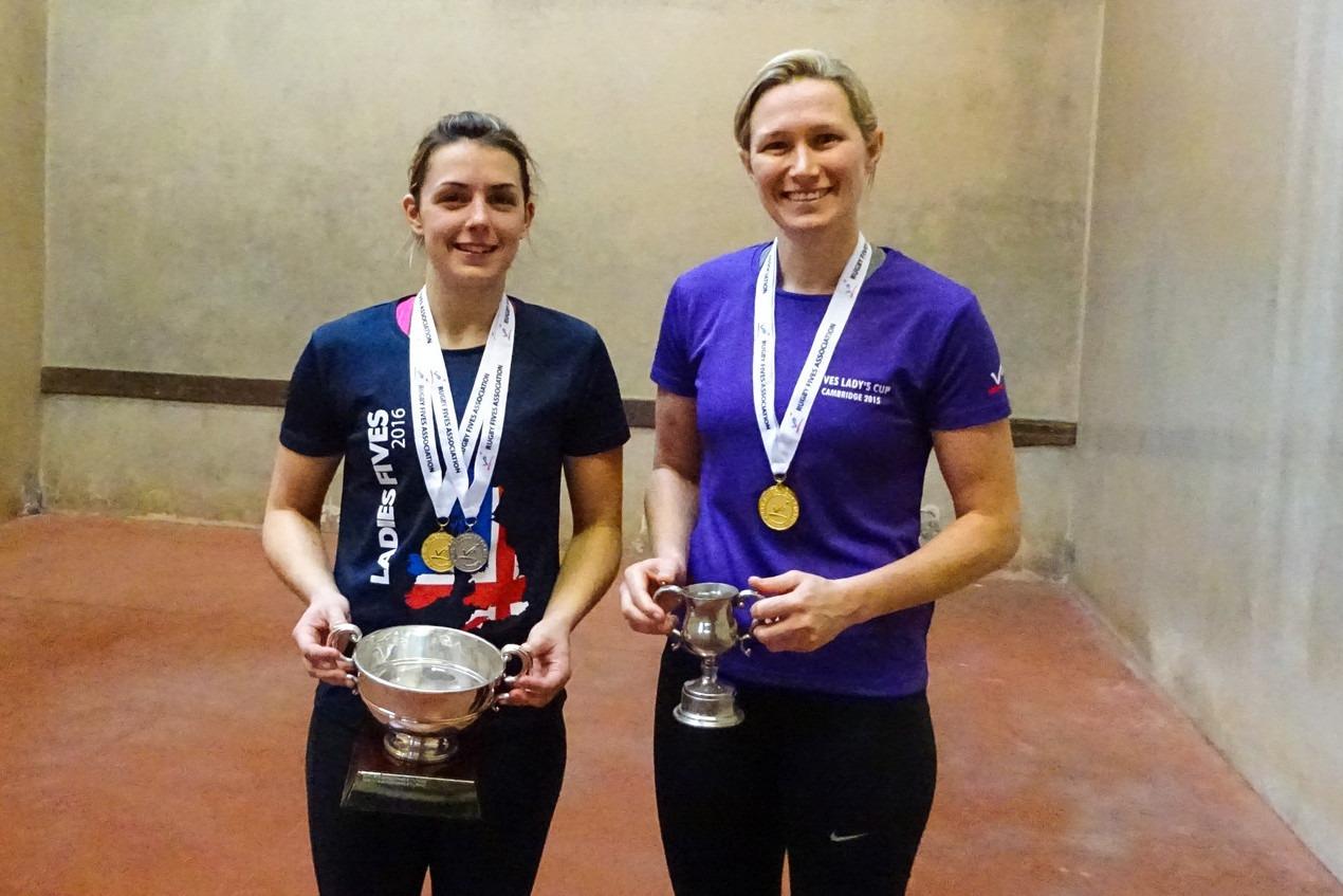 Champions again: Mills & Briedenhann