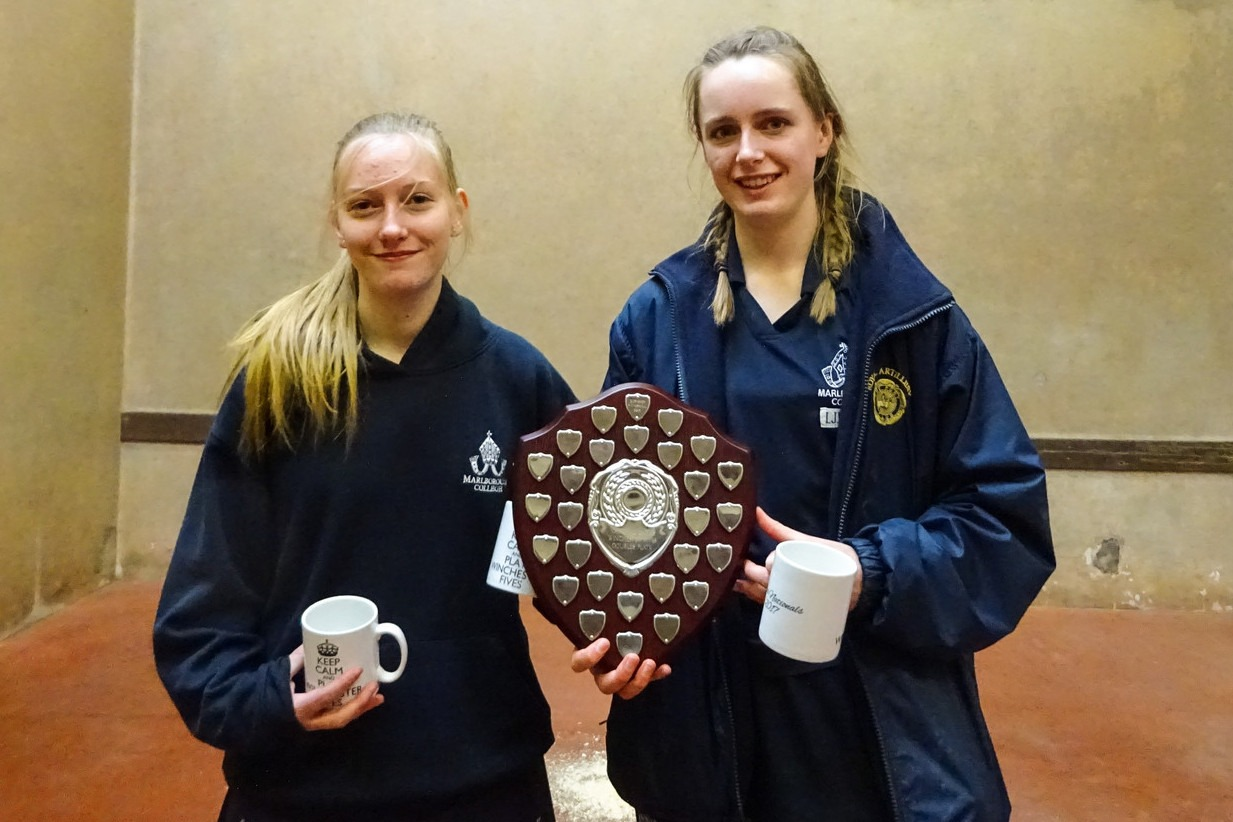 Marlborough's Plate-winning pair