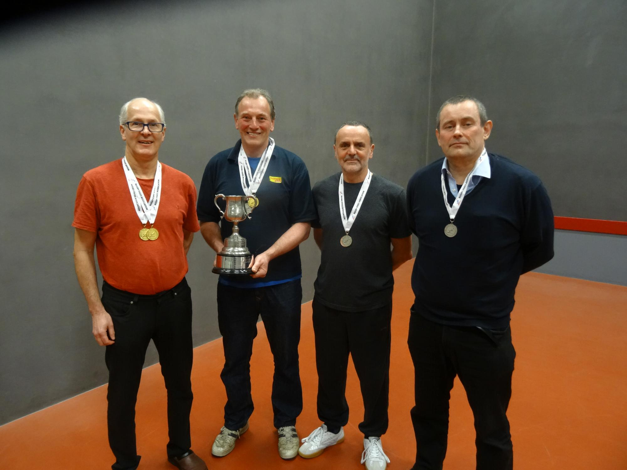 Kirby & Roberts, Kirk & Christie: Vintage Doubles finalists 2017