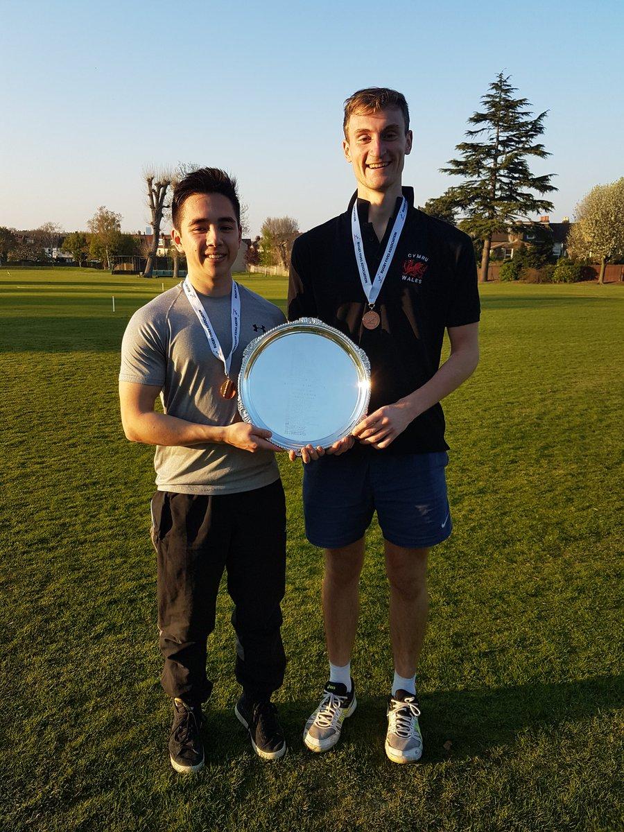 Plate winners Jefferies & Thomas