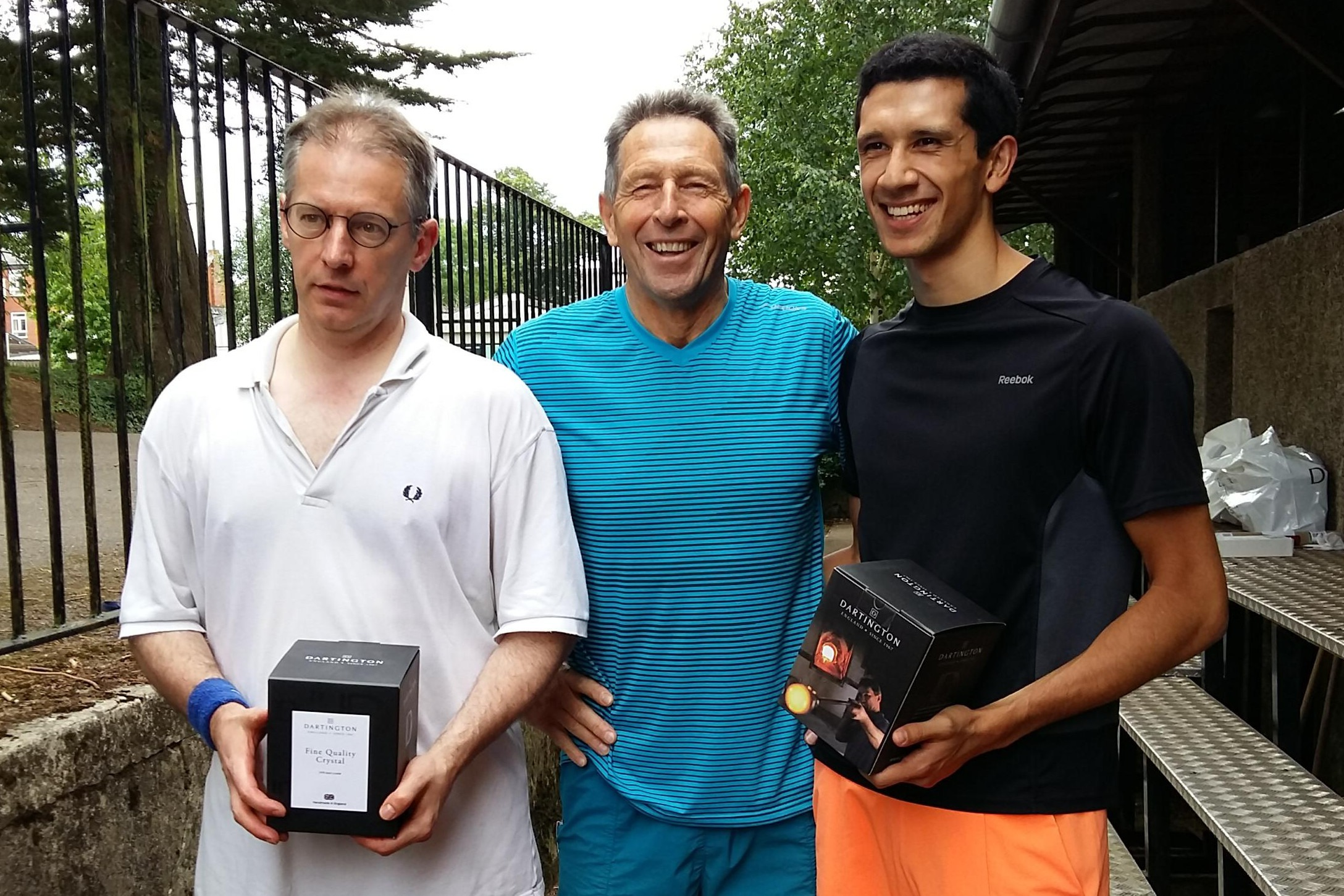American Doubles winners Nick G. and Julian A.