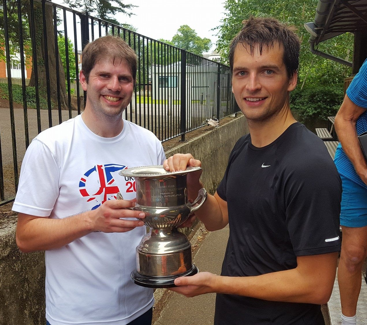 Serious silverware for the Doubles