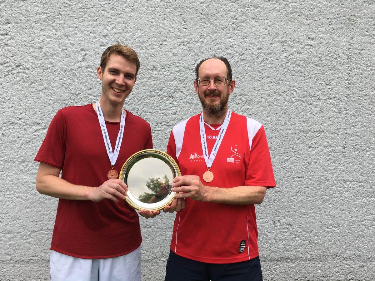 Plate winners in the SE Open Doubles 2017