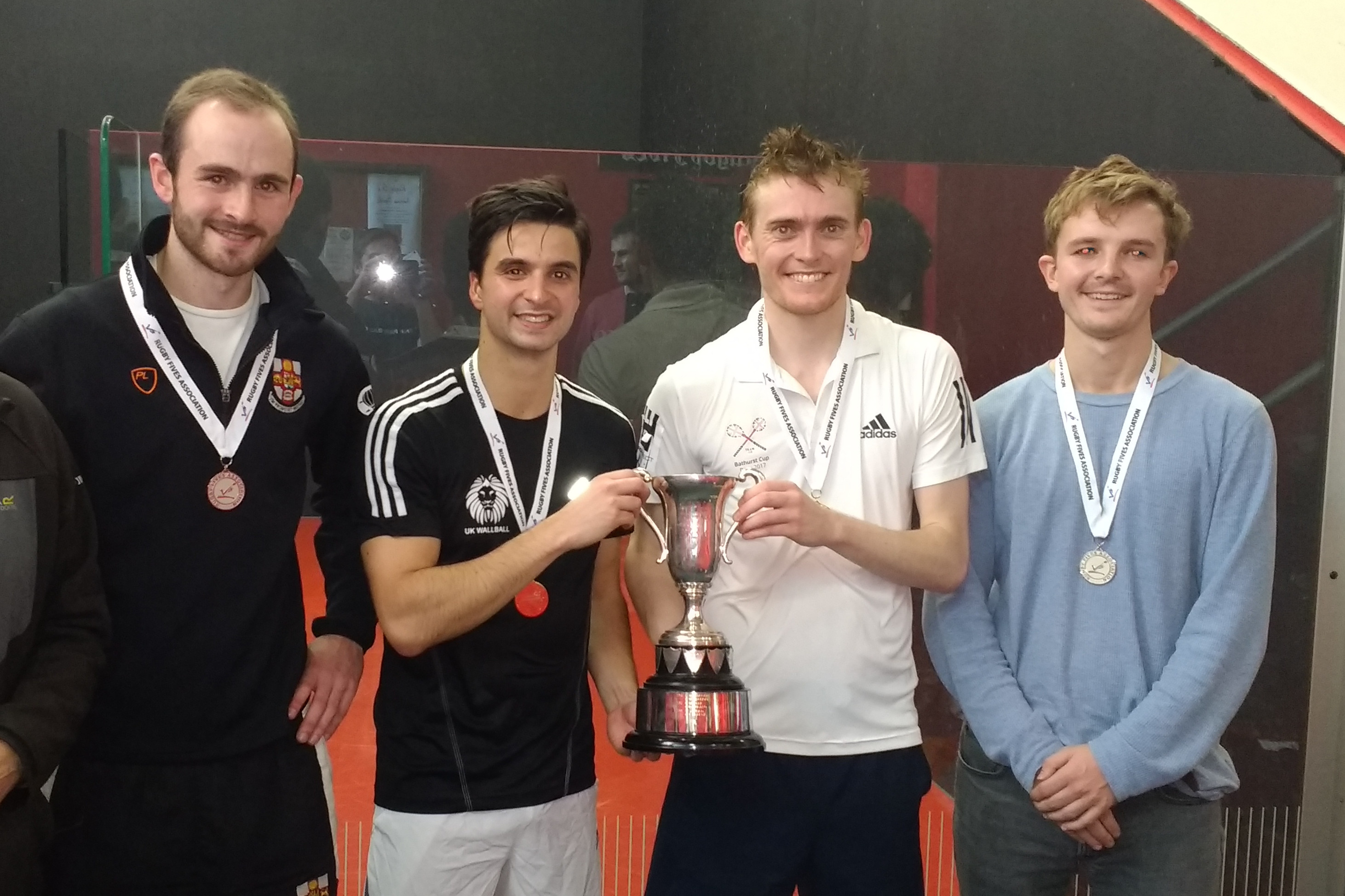The Yorkshire Open Doubles finalists