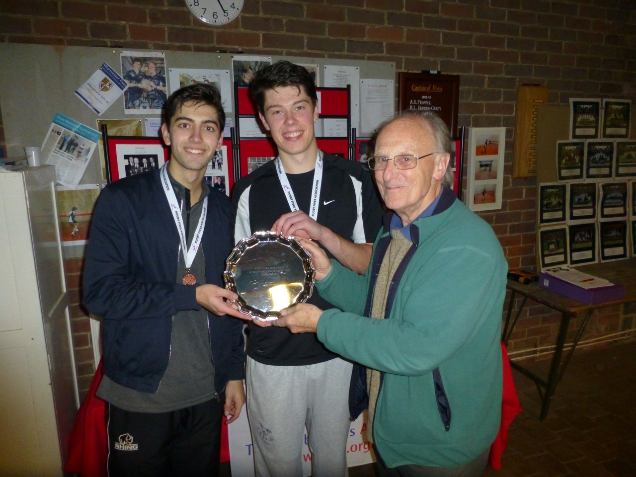 First time winners of the Doubles Plate