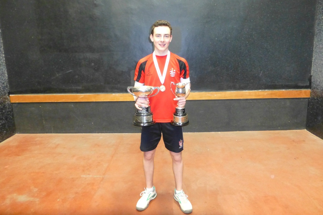 Double Singles champion from Alleyn's