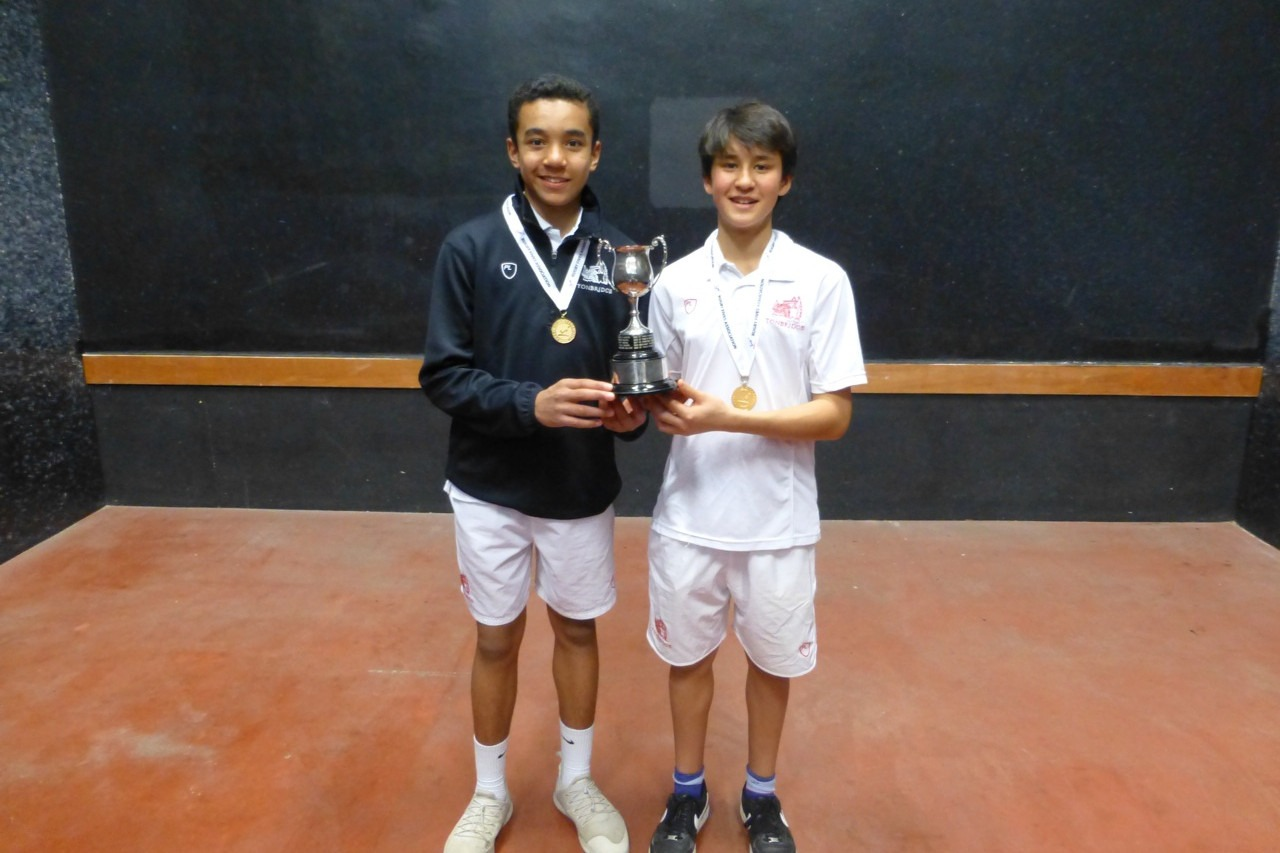 U14 Doubles champions from Tonbridge