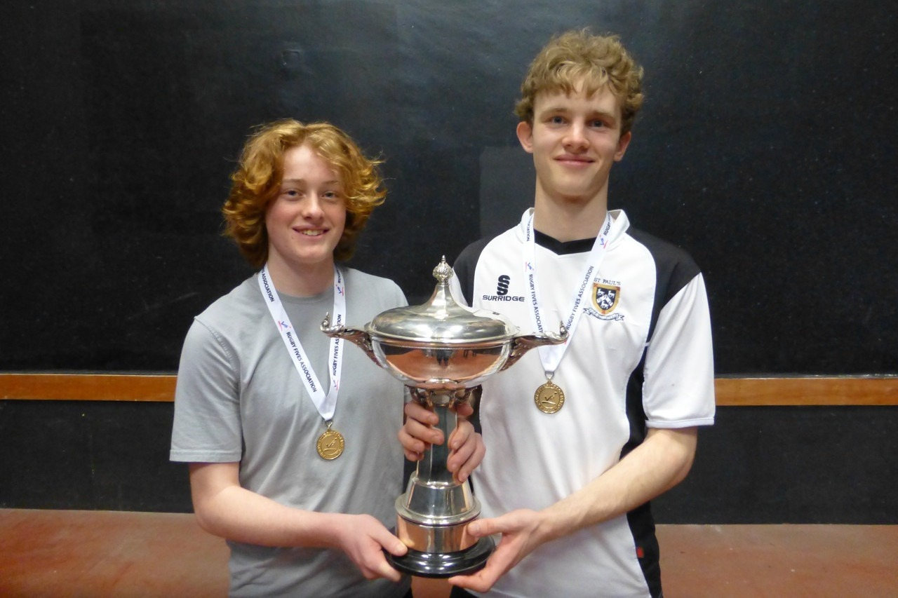 Colts Doubles champions from St. Paul's
