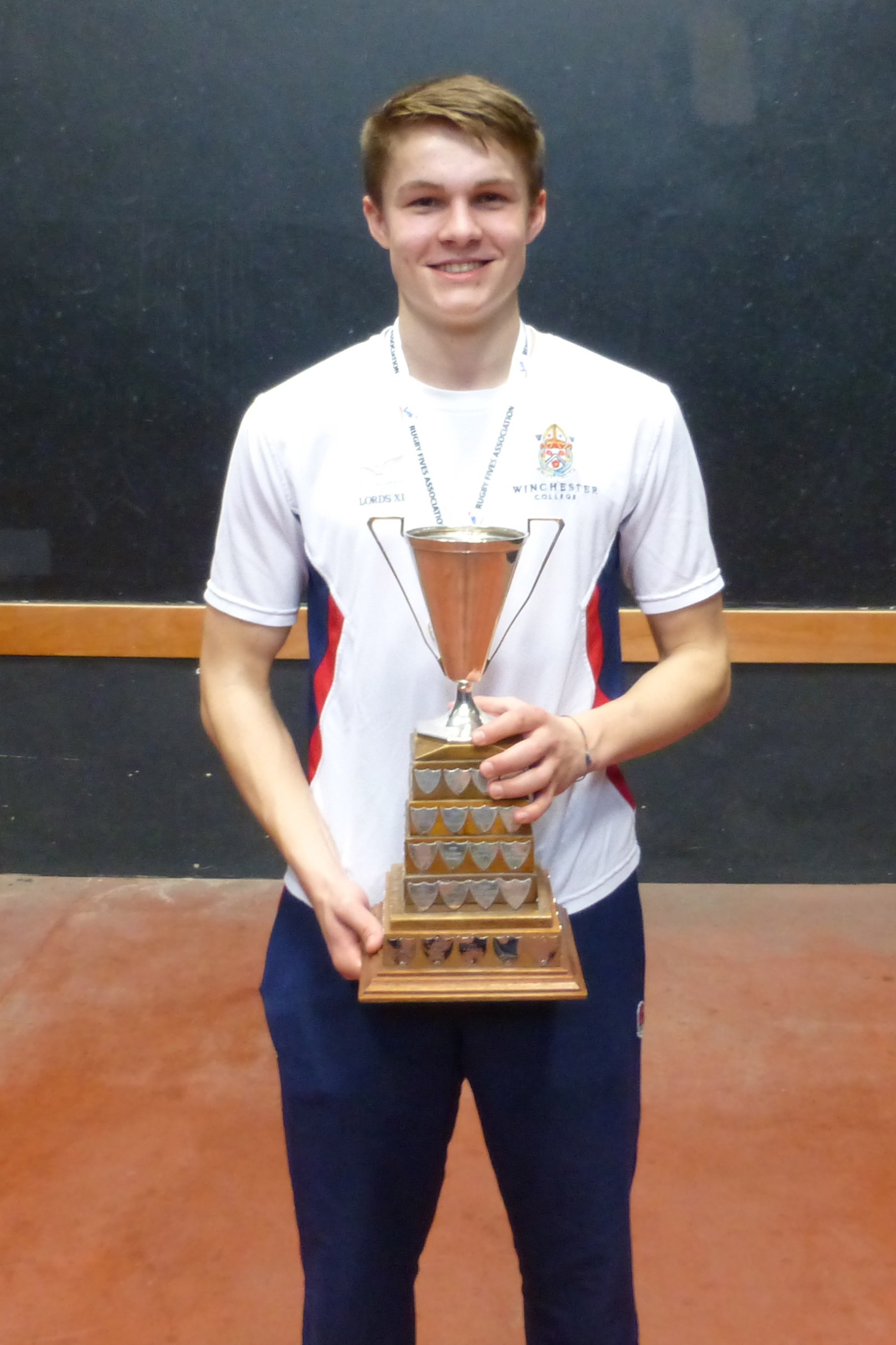 Two-time Winner of the Jesters Cup for Open Singles