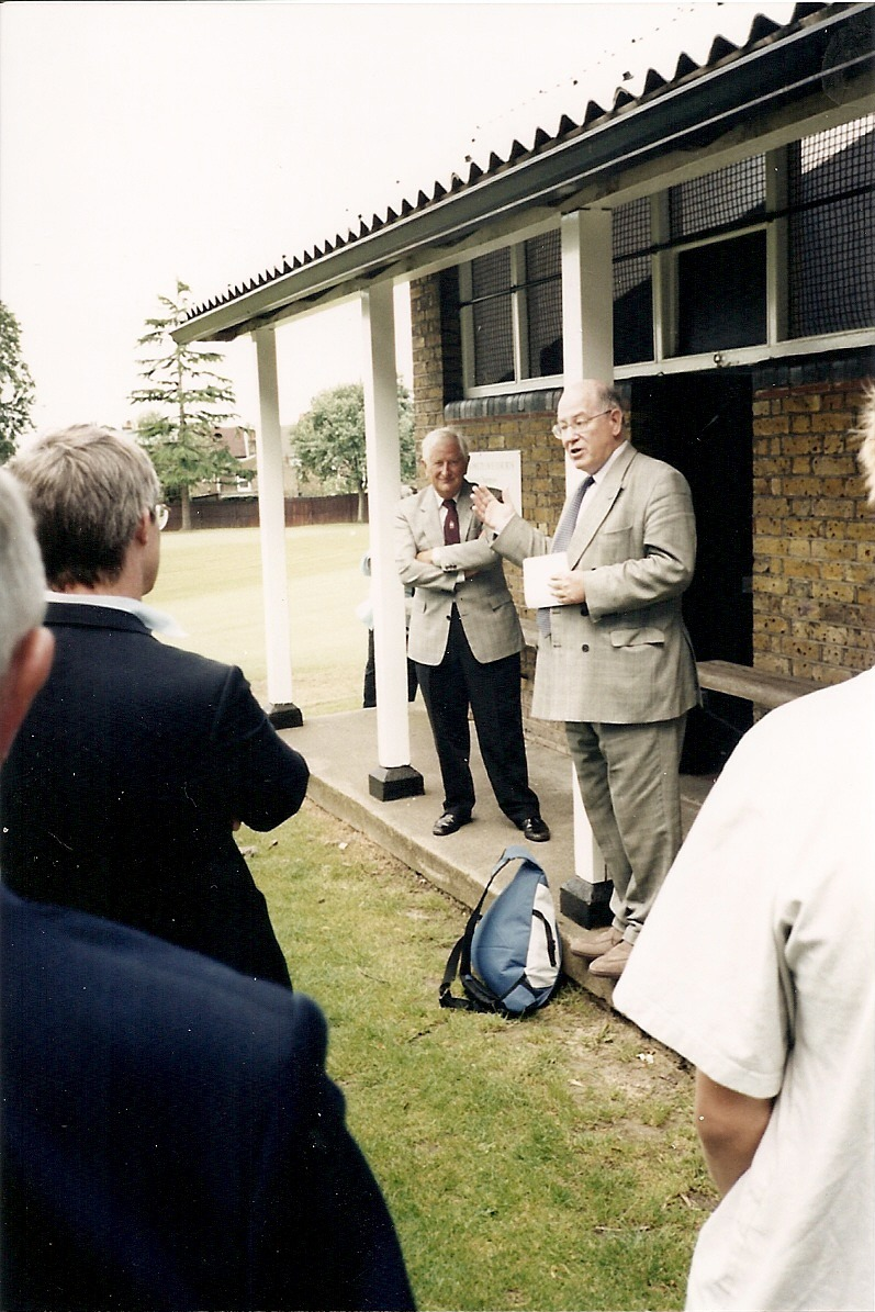 In 2002 the courts at Alleyn's are named after John Pretlove