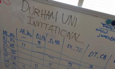Durham University's Challenger Tournament is a resounding success